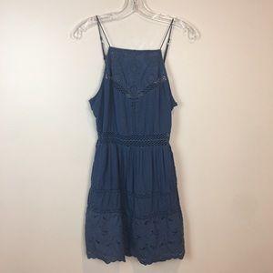 Abercrombie blue summer dress